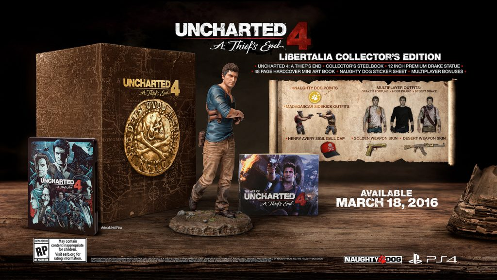 Uncharted 4 - L'edition collector ultime