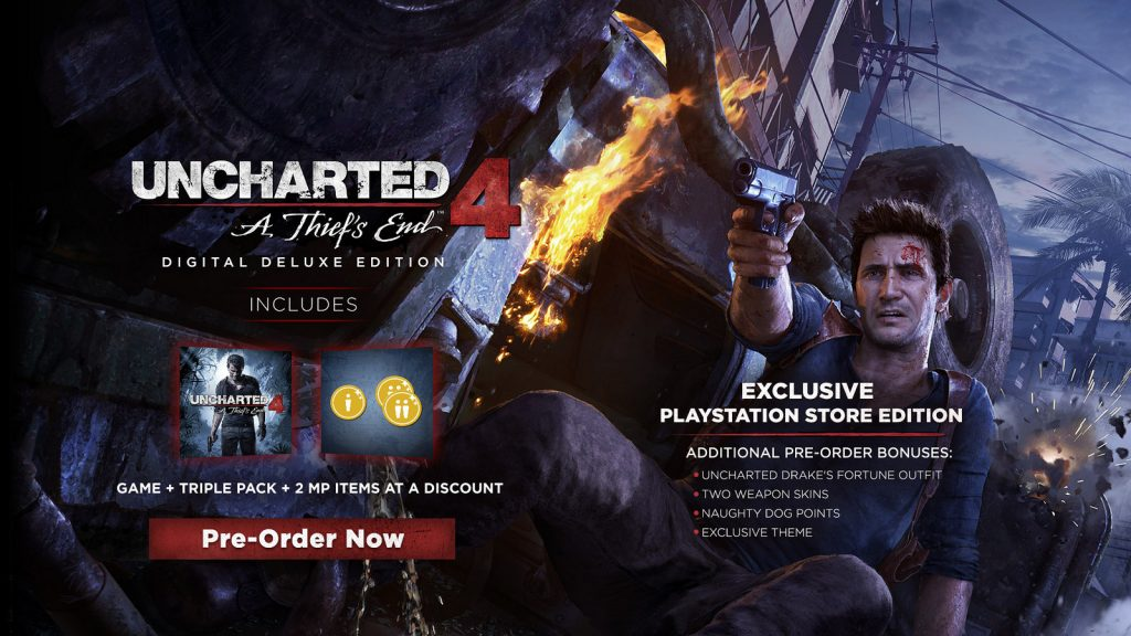 Uncharted 4 - L'edition deluxe