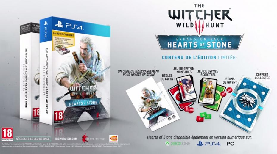 Edition Limitée Hearts of Stone - The Witcher 3