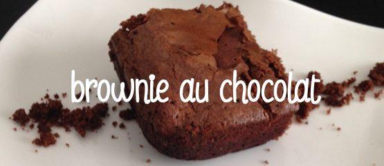Recette brownie au chocolat