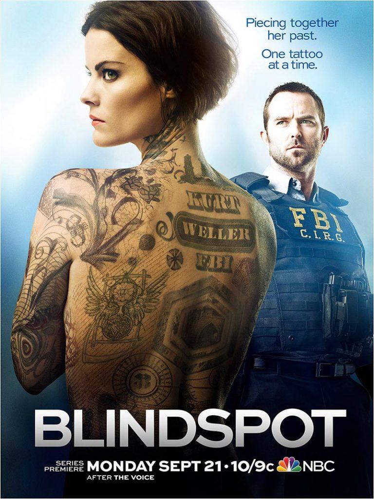 Blindspot - affiche de la saison 1