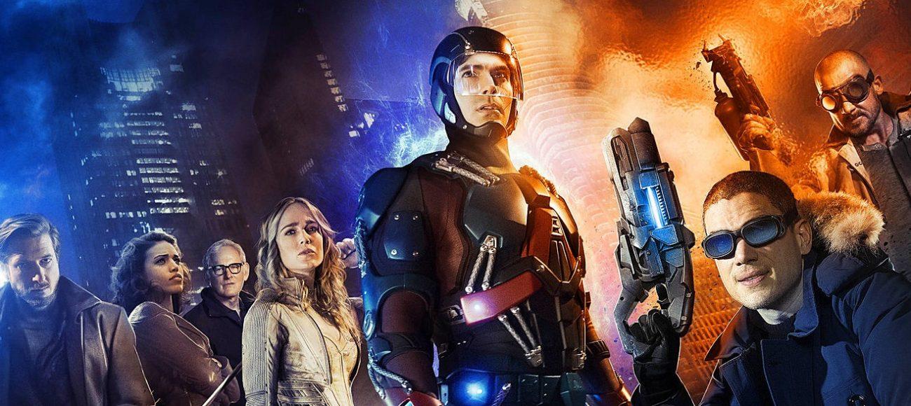 La série Legends of Tomorrow avec Flash & Arrow