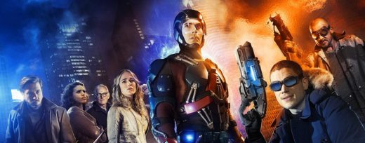 La série Legends of Tomorrow avec Flash & Arrow