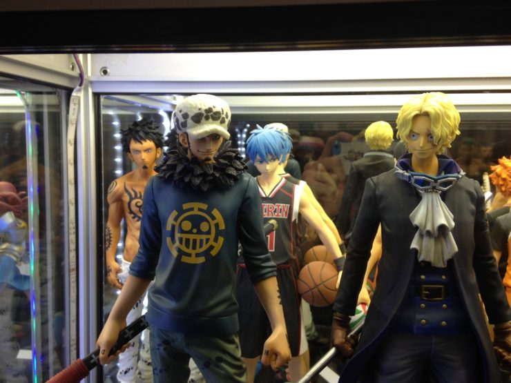 Figurine One Piece, Dragon Ball, Kuroko