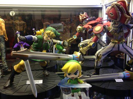 Figurines zelda link