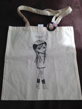 Nos achats Geek Days : sac et Maneki neko
