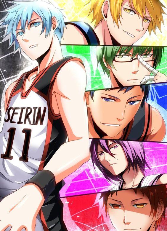 Kuroko no basket - animé