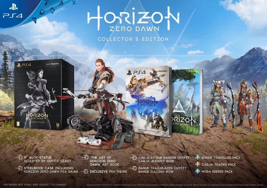 Horizon Zero Dawn Edition Collector
