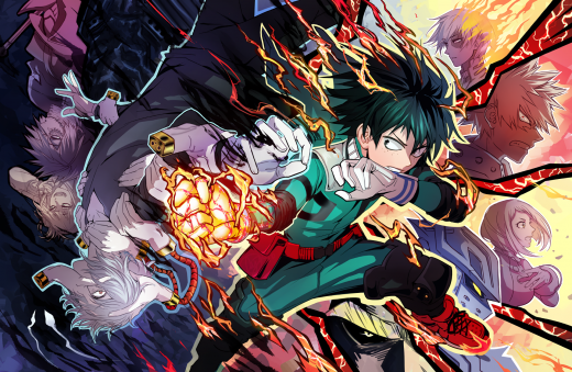 Boku My Hero Academia - Animé / Manga avec Izuki