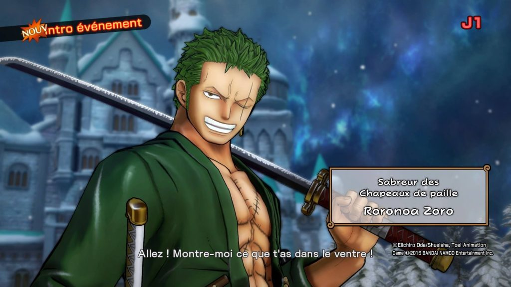 One Piece Burning Blood PS4 - Zoro