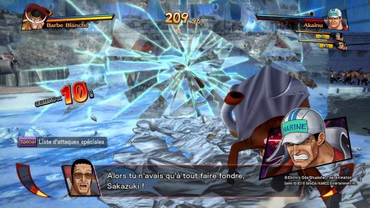 One Piece Burning Blood PS4 - Combat barbe blanche