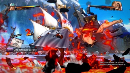 One Piece Burning Blood PS4 - combat Akainu