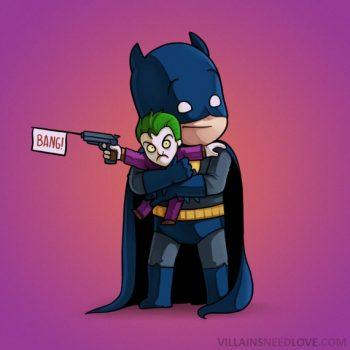 Villains need love - Batman
