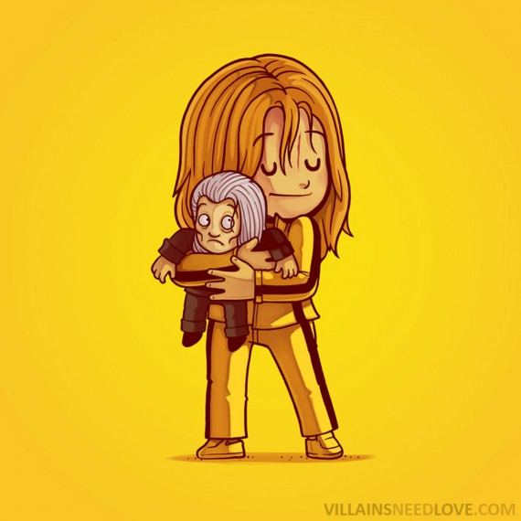 Villains need love - Kill bill