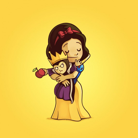 Villains need love - Blanche neige