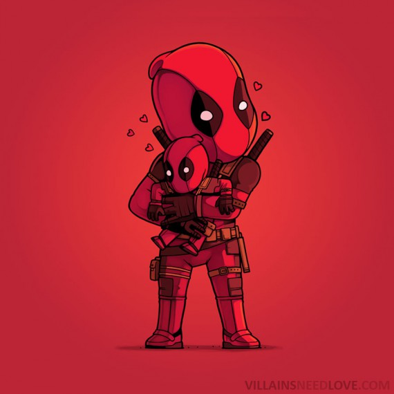 Villains need love - Deadpool