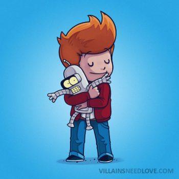 Villains need love - Futurama