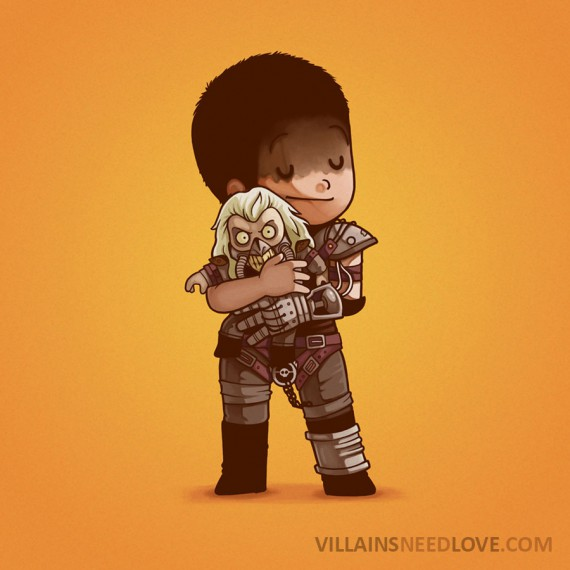Villains need love - Mad max