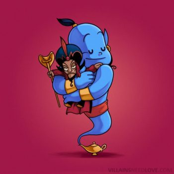 Villains need love - Aladin