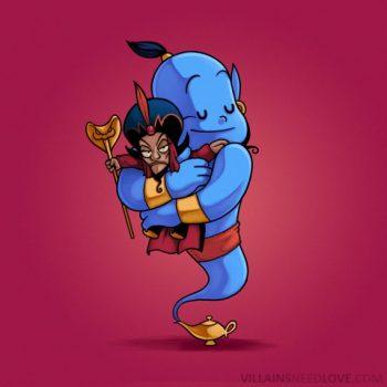 Villains need love - Aladin