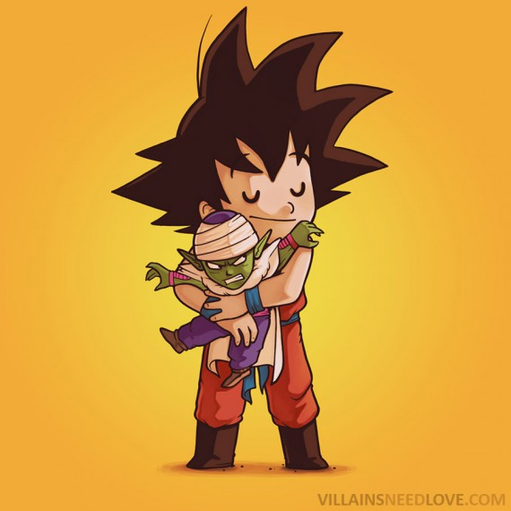 Villains need love - Dragon Ball