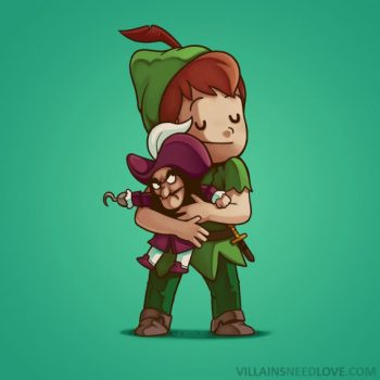 Villains need love - Peter pan