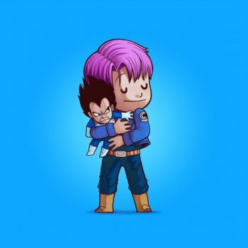 Villains need love - Trunk & Vegeta