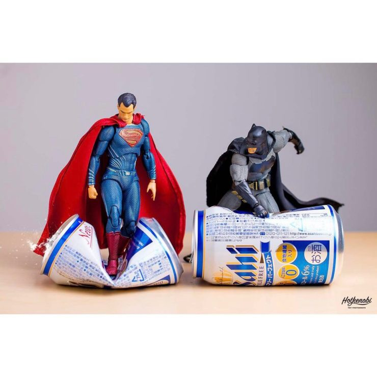 Figurine batman & superman