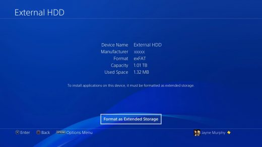 Tuto PS4 - Formater son disque dur externe