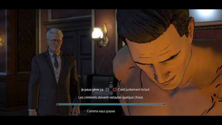 Batman : The Telltale Series - Aventure episodique avec Bruce Wayne et Alfred