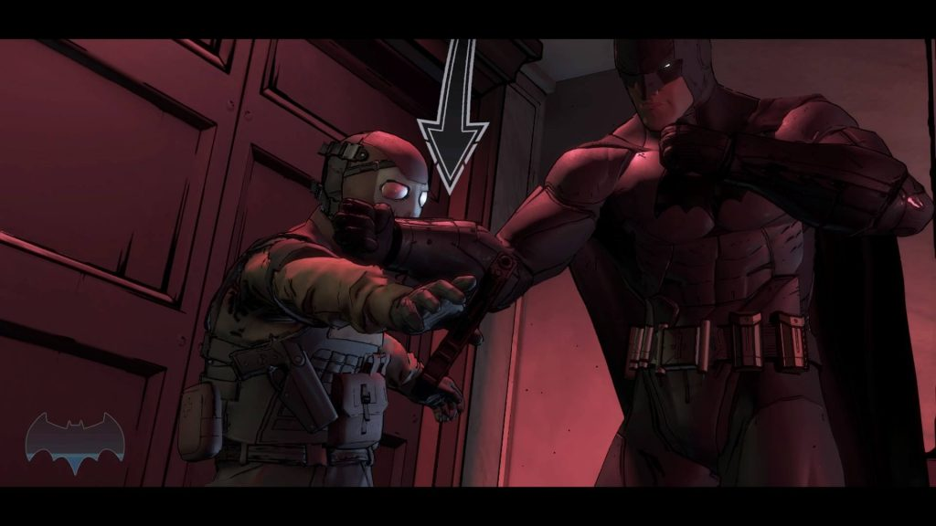 Batman : The Telltale Series - Combat Batman