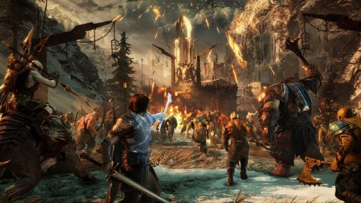Middle Earth, Shadow of war - gameplay trailer