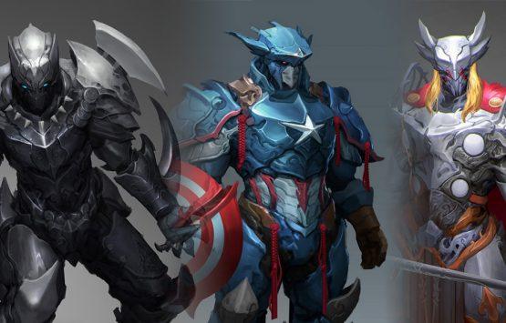 Super Hero redesigned by a fan