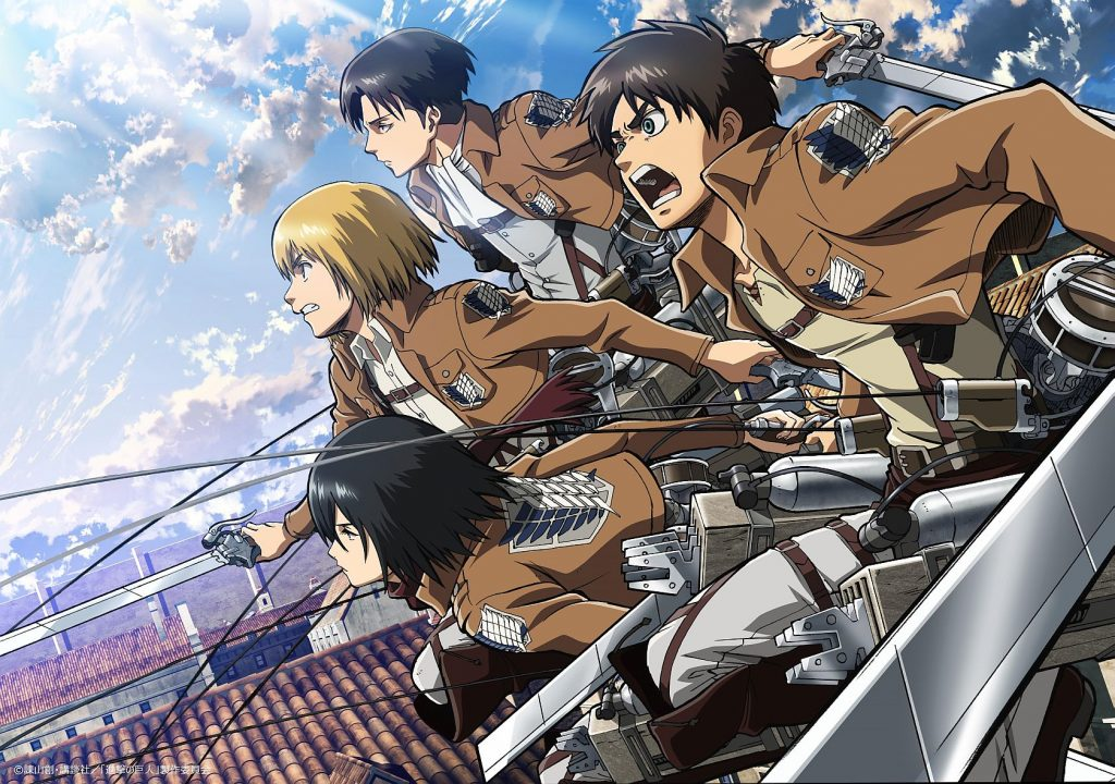 attack on titan animé saison 2