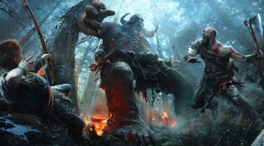 God of War 5 - Trailer gameplay E3 2017