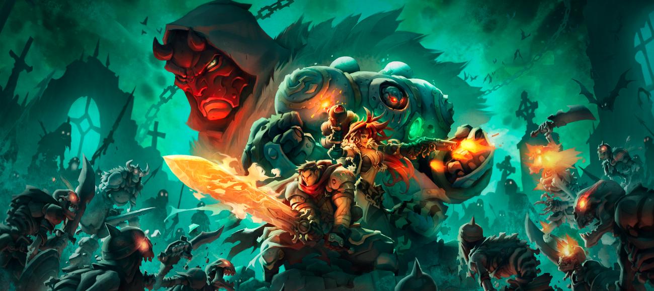 Battle Chasers Nightwar - RPG Tour par tour à la Final Fantasy