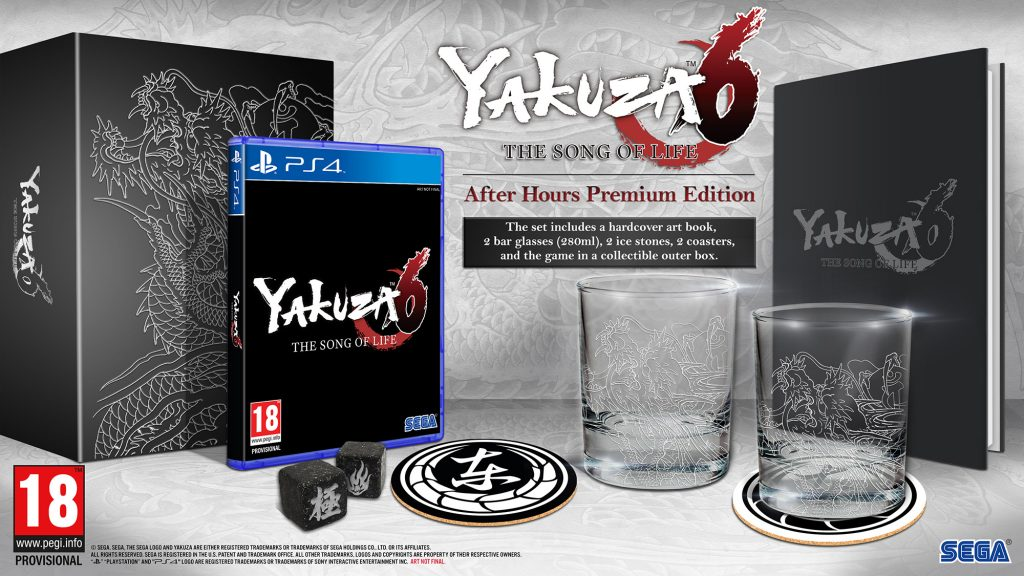 Edition collector Yakuza 6