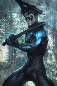 Nightwing by Artgerm