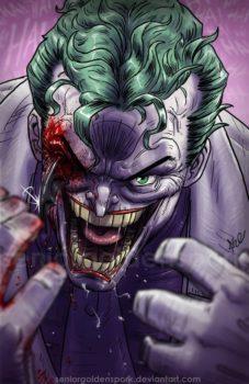 The Joker by seniorgoldenspork